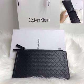 CLEARANCE! Authentic Calvin Klein Unisex Card Holder