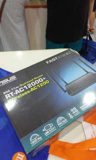 Asus Router RT-AC1200+ model