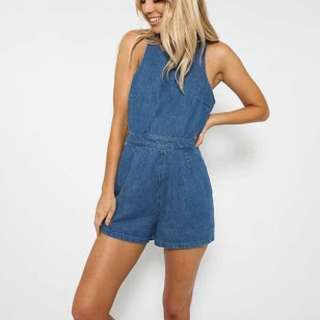THE FIFTH LABEL / Vagabond Denim Playsuit