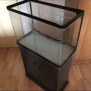 💥Clearance Sale💥 Fish tank with cabinet