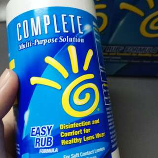 Contact lens water solution