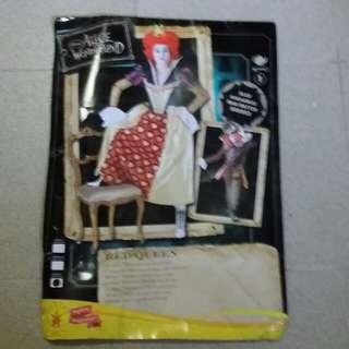 Red Queen of hearts Costume  (Alice in Wonderland)