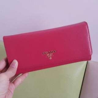 Prada Pink Wallet 長銀包