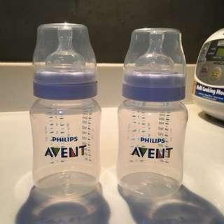 2pcs Avent Classic 9oz Bottles