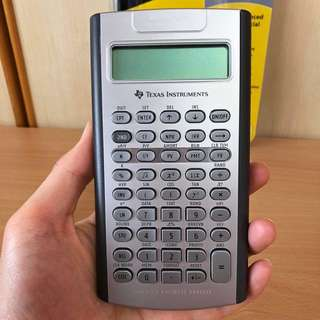 Texas Instruments BA II Plus Professional Silver Financial Calculator