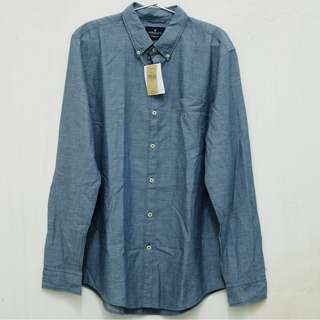 AMERICAN EAGLE OUTFITTERS slim fit denim shirt