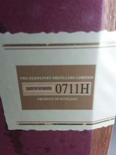 Glenlivet Archive 21 Rare single malt serialised