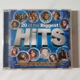20 of the Biggest Hits Audio Music CD
