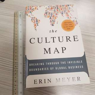 The Culture Map by Erin Meyer (hardcover)