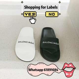 Balenciaga拖鞋