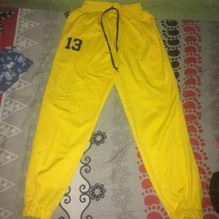 Yellow Jogger Sport Size M/L