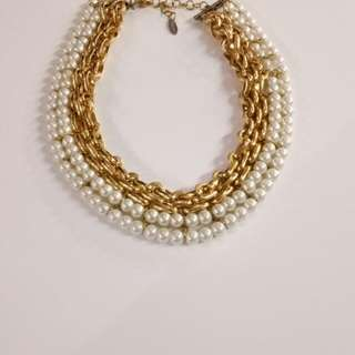 pearl.gold chain