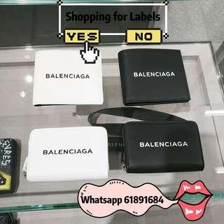 Balenciaga銀包