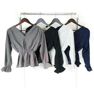 Kimono jane stripe