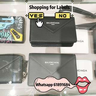 Balenciaga袋 mini wallet