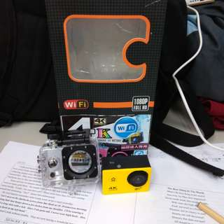 4KWIFI版相機
