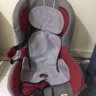Cherry car seat