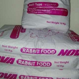 Pakan pelet kelinci nova 10kg