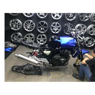 STICKER WRAP @ MOTOR BIKE PARTS