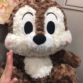 BN HUGE huggable fluffy Disney chip