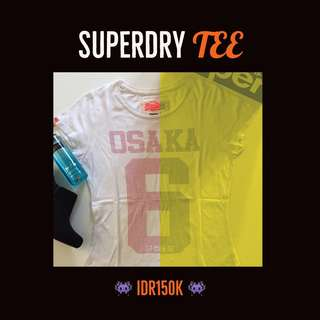SuperDry white tee