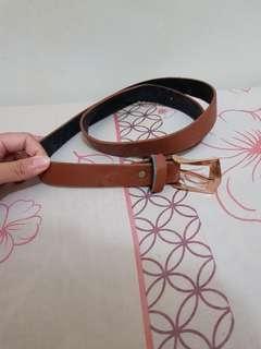 Belt cokelat polos