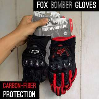 FOX BOMBER Gloves | Carbon-Fiber Protection