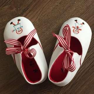 Pitter-Pat Toddler Shoes (White)