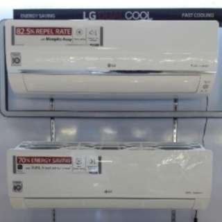 BRAND NEW LG STANDARD DUAL INVERTER SPLIT TYPE AIRCON