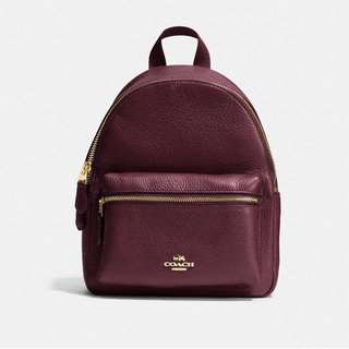 Coach Mini Charlie Backpack