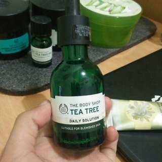 FREE Serum tea tree series the body shop