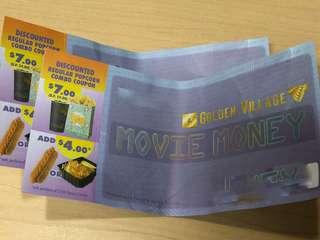 Golden Village Movie Vouchers (4 Tickets, Any Movie)