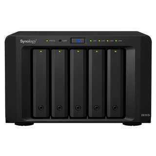 全新 Synology DiskStation DS1515+ (5-Bay NAS, 四核心, 4 GbE LAN)