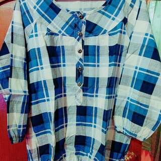 Baju blouse Kemeja second