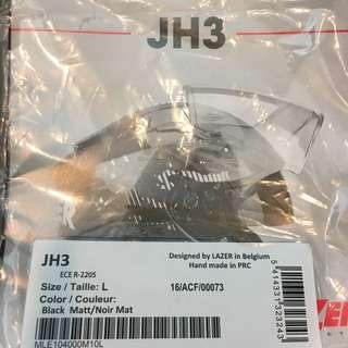Lazer Helmet with Sena 3s