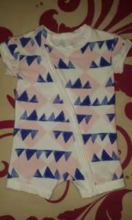 COTTON ON BABY ROMPER WITH ZIPPER