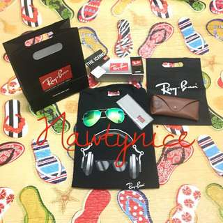 Ray-Ban Aviator Green Flash