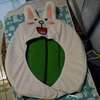 Line 兔兔頭套