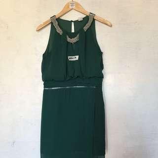 Green Dress Medium