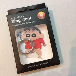 蠟筆小新✨電話指環扣