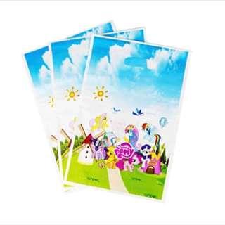 🦄 LITTLE PONY PLASTIC GOODIE BAG • PARTY FAVOUR BAG • SOUVENIR LOOT BAG