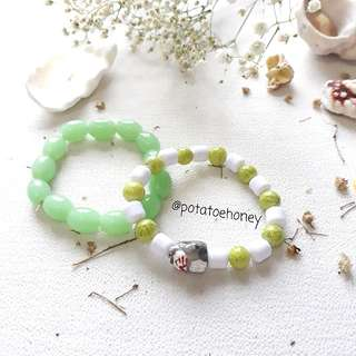 Gelang green kitty