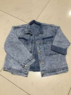 Denim jacket washed