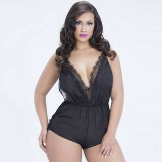 Sheer Romper XL and 2XL