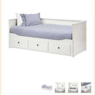 Ikea hemnes day bed frame - double/single
