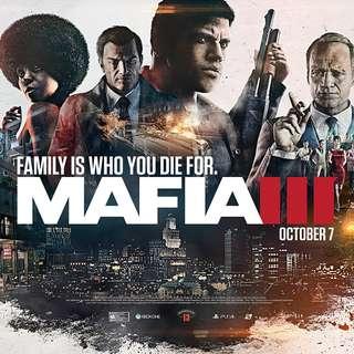 Mafia 3 (Steam) + FREE Deus EX : Mankind Divided