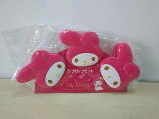 Brand New Sanrio My Melody Clips