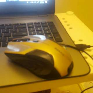 Gaming mouse barley used