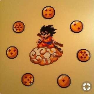 Dragon Ballz Hama Designs