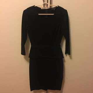 Portman corporate/office lady dress black size 6
